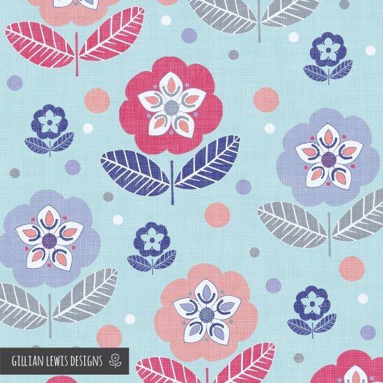 65.Gillian-Pryce-Lewis---Flora-blue