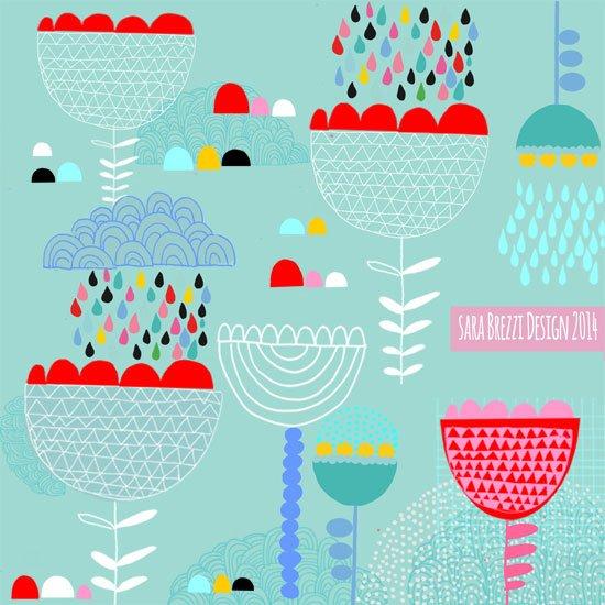 74. Sara Brezzi - Happy Flowers
