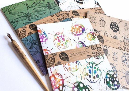 Botanica Notebooks-Jessica Wilde Design ©