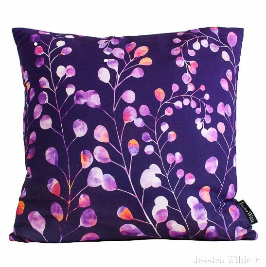 Botanica_Cushion- Jessica Wilde Design 2015 ©-Jessica Wilde Design ©