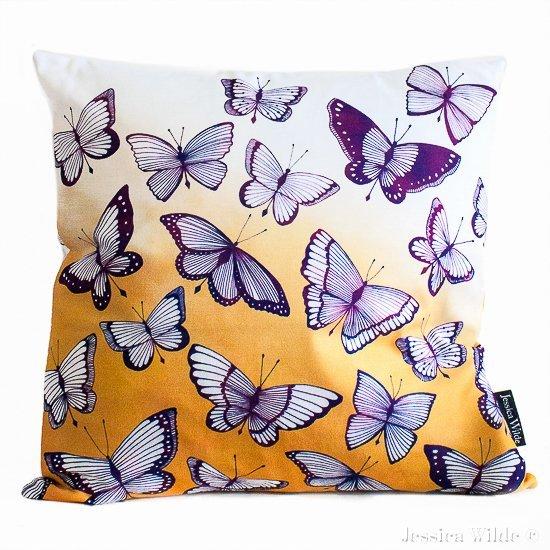 Flutter_Cushion- Jessica Wilde Design 2015 ©-Jessica Wilde Design ©