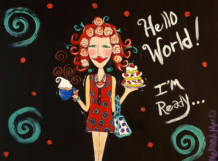 Hello World Artwork MMeeks