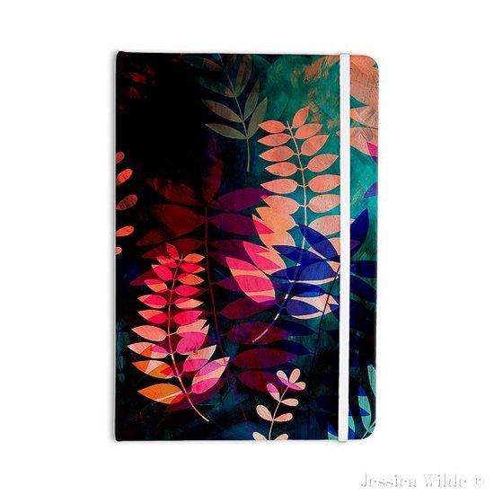KESS INHOUSE Dark Jungle Notebook Jessica Wilde Designs-Jessica Wilde Design ©