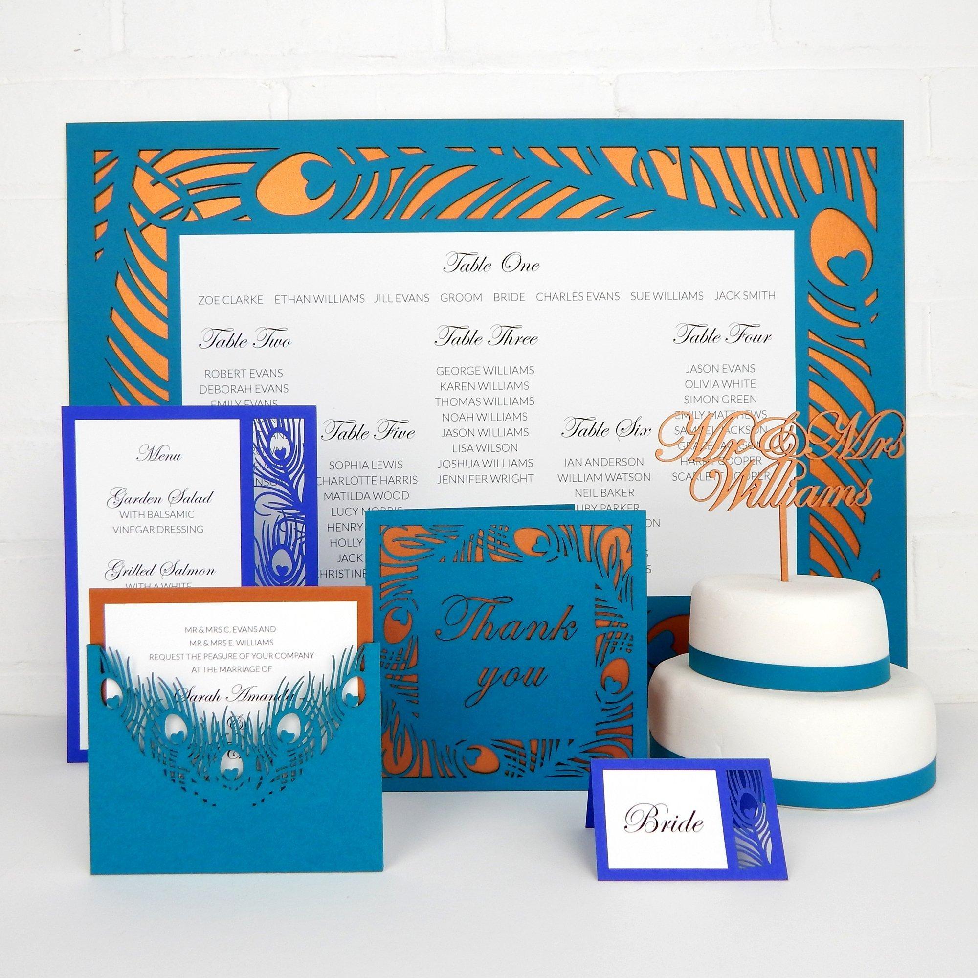 La Plume wedding stationery collection