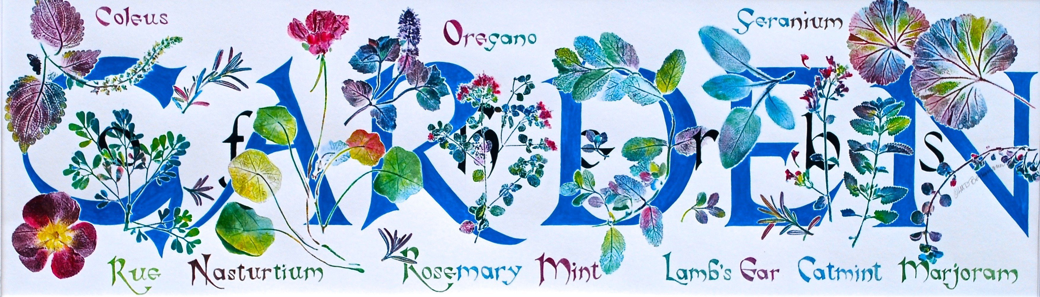 LauraBethmann_Garden_Ink_&_Watercolor_Nature_Print_Painting_Hand_Lettering_8x27