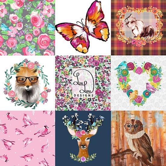 Lisa Lane Art Collage 1