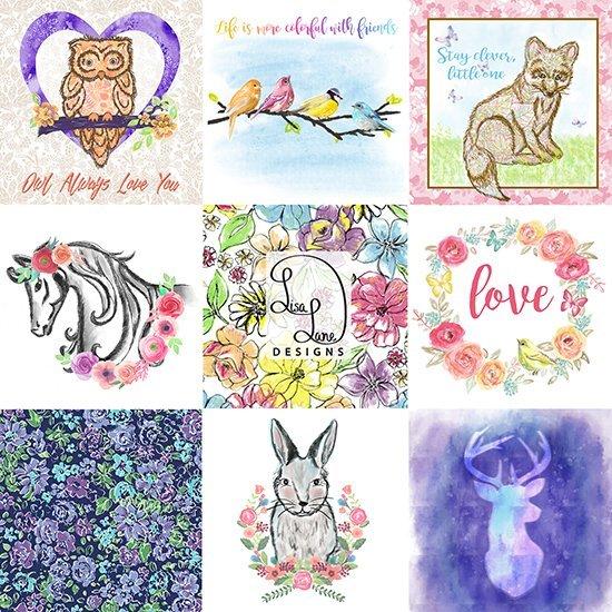 Lisa Lane Art Collage 2