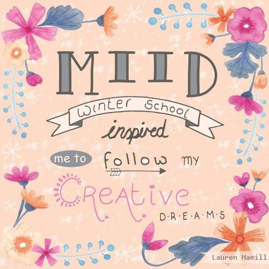 MIID Winter School 17 - Typography Testimonial Final - High Res