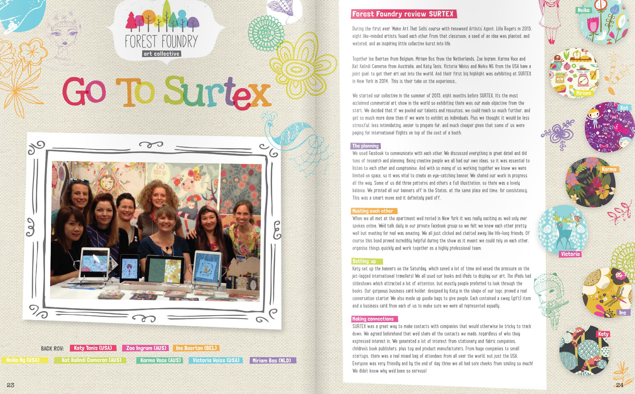 Surtex with Forest Foundation