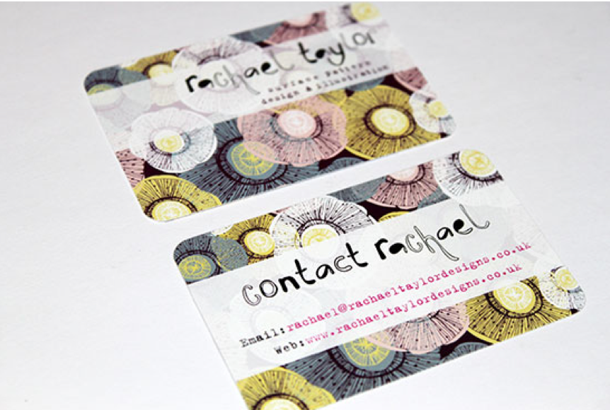Rachael Taylor's business cards