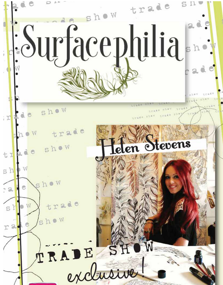 read a trade show diary from red hot design brand Surfacephilia