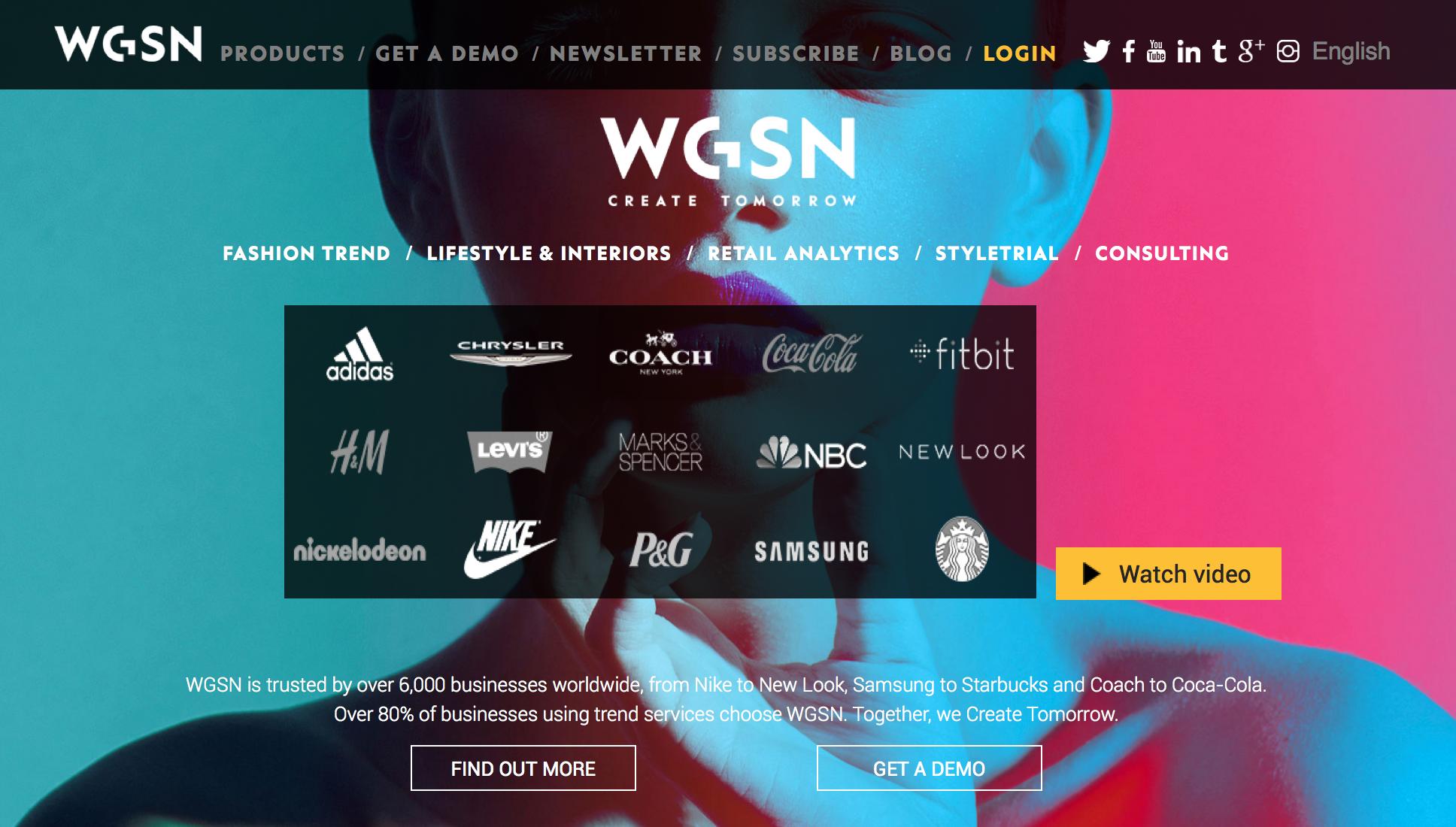 90 days WGSN access