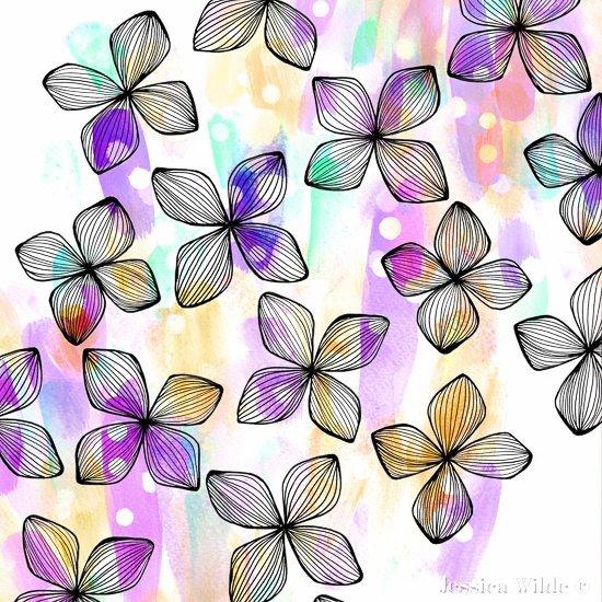 Summer Blossom Placement Pattern-Jessica Wilde Design ©