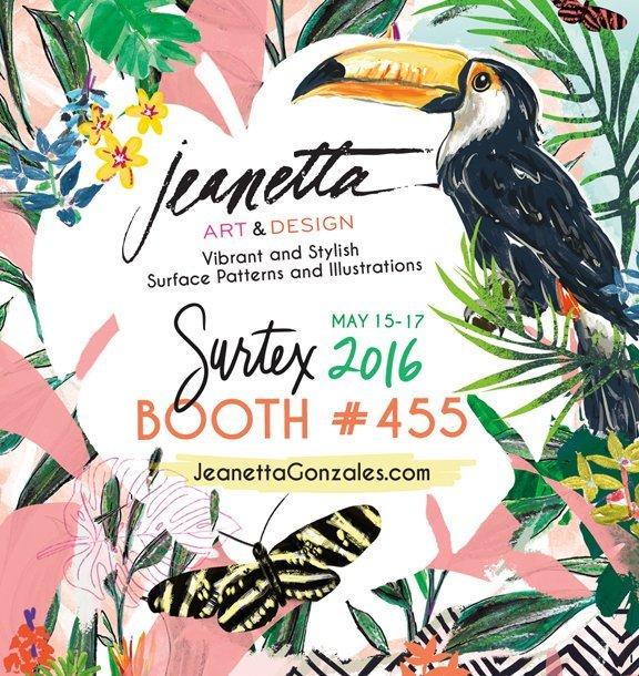 Surtex2016_JeanettaGonzales_flyer