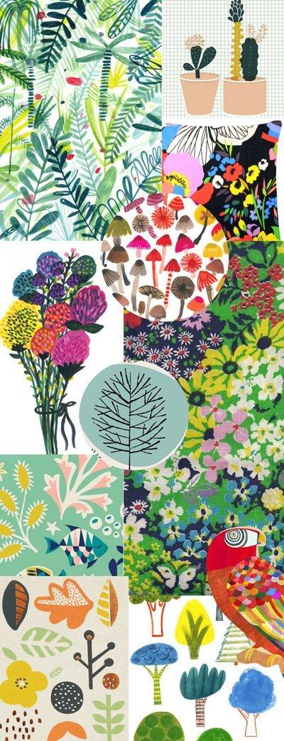 print & pattern nature book moodboard 2