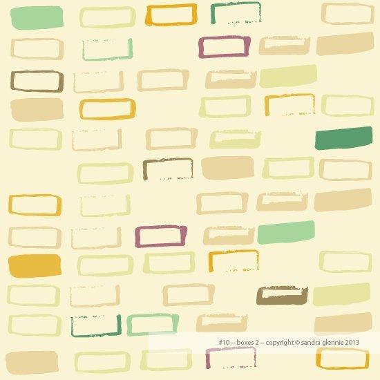 sandra glennie - organic rectangles