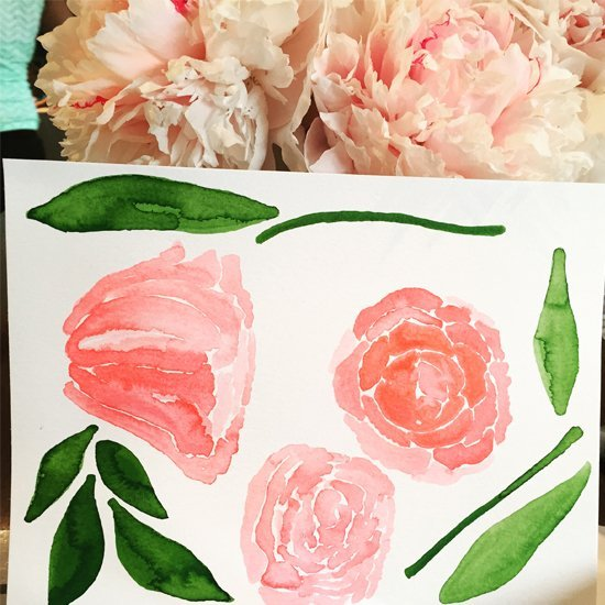 watercolorpeony